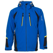 Karbon Chromium Mens Insulated Ski Jacket, Empire-Black-Yellow, medium