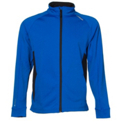 Karbon Force Mens Mid Layer, Olympic Blue-Black, medium