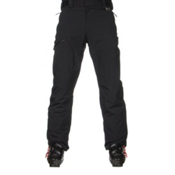 Karbon Silver Pant Trim Mens Ski Pants, Black-Black, medium