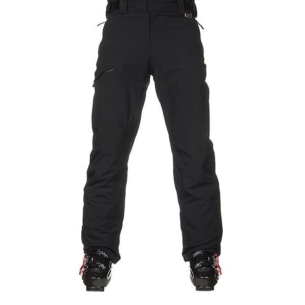 Karbon Silver Pant Trim Mens Ski Pants, Black-Black, 600