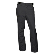 Karbon Silver Pant Short Mens Ski Pants, Black-Black, medium