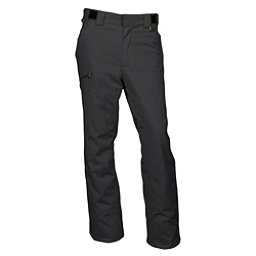 Karbon Silver Pant Short Mens Ski Pants, Black-Black, 256