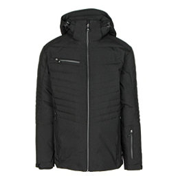 Karbon Thor Mens Insulated Ski Jacket, Black-Black-Black, 256