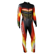 Karbon Pinnacle GS Suit, Black-Red-Orange-Yellow, medium