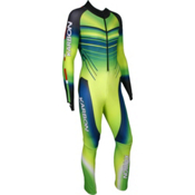 Karbon Pinnacle GS Suit, Electric Green-Neon Lime-Navy-, medium