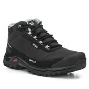 Salomon Shelter CS WP Mens Boots, Black-Black-Pewter, medium