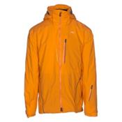 KJUS FRX Alpha Mens Insulated Ski Jacket, Orange Pepper, medium