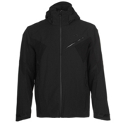 KJUS Line Mens Insulated Ski Jacket, Black, medium
