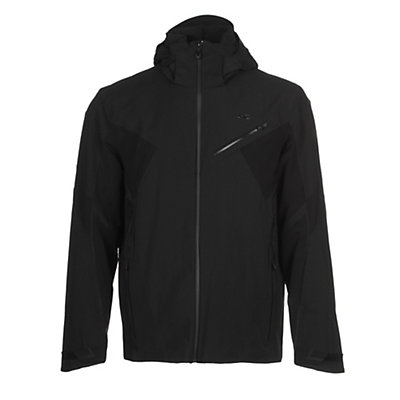KJUS Line Mens Insulated Ski Jacket, Black, viewer