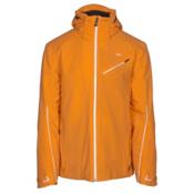 KJUS Line Mens Insulated Ski Jacket, Orange Pepper, medium