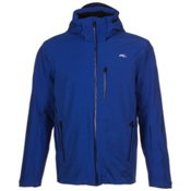 KJUS Formula Mens Insulated Ski Jacket, Alaska-Atlanta Blue, medium