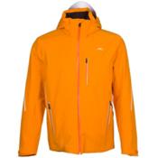 KJUS Formula Mens Insulated Ski Jacket, Orange Pepper-Black, medium