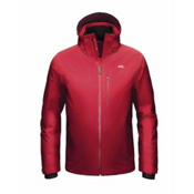 KJUS Formula Mens Insulated Ski Jacket, Scarlet-Rum, medium