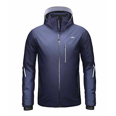 KJUS Formula Mens Insulated Ski Jacket, Black-White, viewer