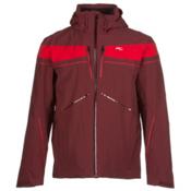KJUS Speed Reader Mens Insulated Ski Jacket, Rum-Scarlet, medium