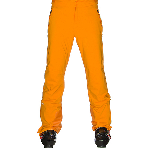 KJUS Formula Pro Mens Ski Pants, Orange Pepper, 600