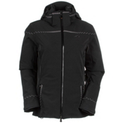 KJUS Light Speed Womens Insulated Ski Jacket, Black, medium