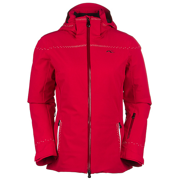 KJUS Light Speed Womens Insulated Ski Jacket, Purpur Red, 600