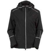 KJUS Formula Womens Insulated Ski Jacket, Black, medium