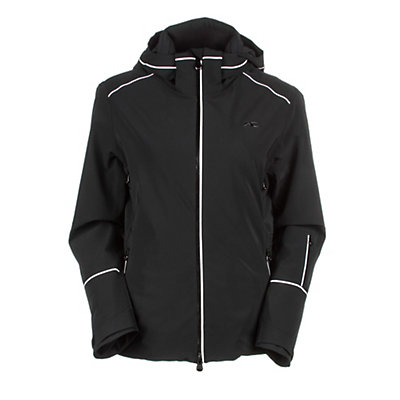 KJUS Formula Womens Insulated Ski Jacket, Black, viewer