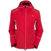 KJUS Formula Womens Insulated Ski Jacket, Lipstick Pink-White, medium