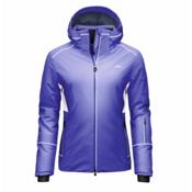 KJUS Formula Womens Insulated Ski Jacket, Lotus Blue-White, medium