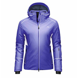 KJUS Formula Womens Insulated Ski Jacket, Lotus Blue-White, 256