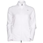 KJUS Bay Jacket Womens Mid Layer, White, medium