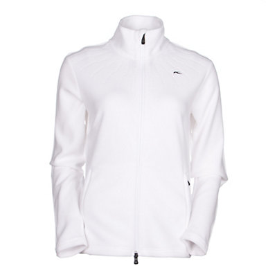 KJUS Bay Jacket Womens Mid Layer, White, viewer