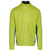 KJUS FRX 3D Map Mens Jacket, Wasabi-Alaska Blue, medium