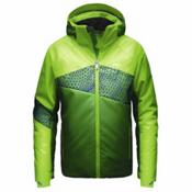 KJUS Digital Boys Ski Jacket, Komi Green-Boa Green, medium