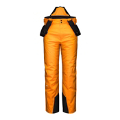 KJUS Vector Boys Kids Ski Pants, Orange Pepper, medium
