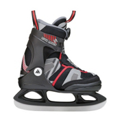 K2 Rink Raven Boa Boys Ice Skates, Black-Red, medium