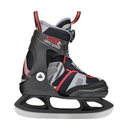 K2 Rink Raven Boa Boys Ice Skates, Black-Red, 256