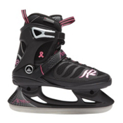 K2 Alexis Womens Figure Ice Skates, Black-White-Red, medium