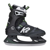 K2 F.I.T. Pro Ice Skates, Black-Green, medium