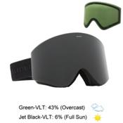 Electric EGX Goggles 2016, Matte Black-Jet Black + Bonus Lens, medium
