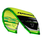 Cabrinha Radar Kiteboarding Kite, Green Black, medium