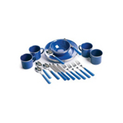 Stansport 24-PC Enamel Tableware Set, , medium