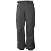 Columbia Bugaboo II Short Mens Ski Pants, Graphite, medium