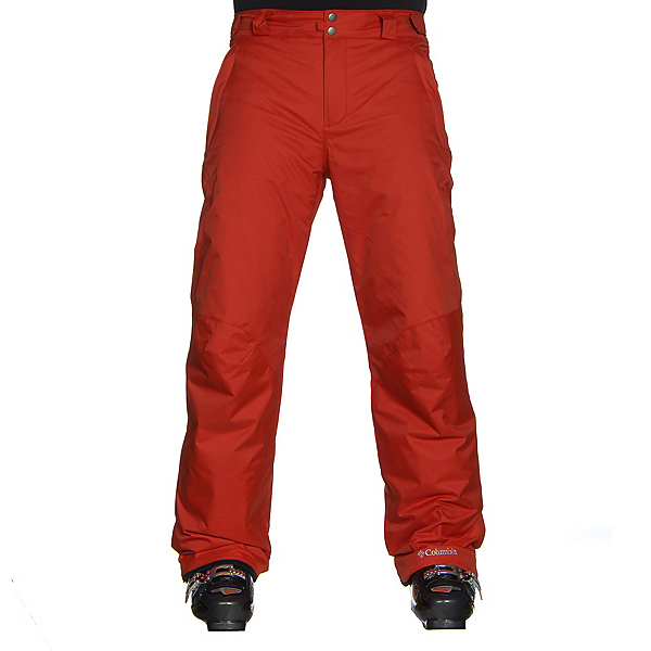 Columbia Bugaboo II Short Mens Ski Pants, Rust Red, 600