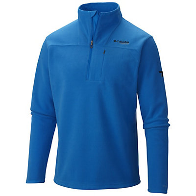 Columbia Forrester Pass Mens Mid Layer, Hyper Blue, viewer