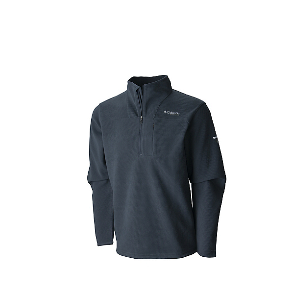 Columbia Forrester Pass Mens Mid Layer, Graphite, 600