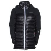 Columbia Heatzone 1000 TurboDown Womens Insulated Ski Jacket, Black, medium