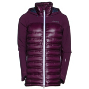 Columbia Heatzone 1000 TurboDown Womens Insulated Ski Jacket, Purple Dahlia, medium