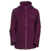 Columbia Carvin Womens Shell Ski Jacket, Purple Dahlia, medium