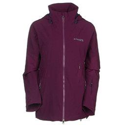 Columbia Carvin Womens Shell Ski Jacket, Purple Dahlia, 256