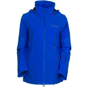 Columbia Carvin Womens Shell Ski Jacket, Blue Macaw, medium
