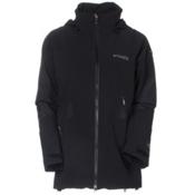 Columbia Carvin Womens Shell Ski Jacket, Black, medium
