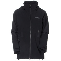 Columbia Carvin Womens Shell Ski Jacket, Black, 256